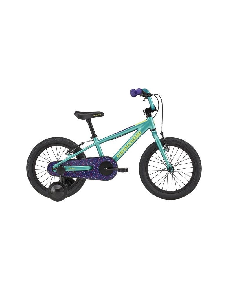 Cannondale Kids Trail Freewheel 16 Turquoise 2020