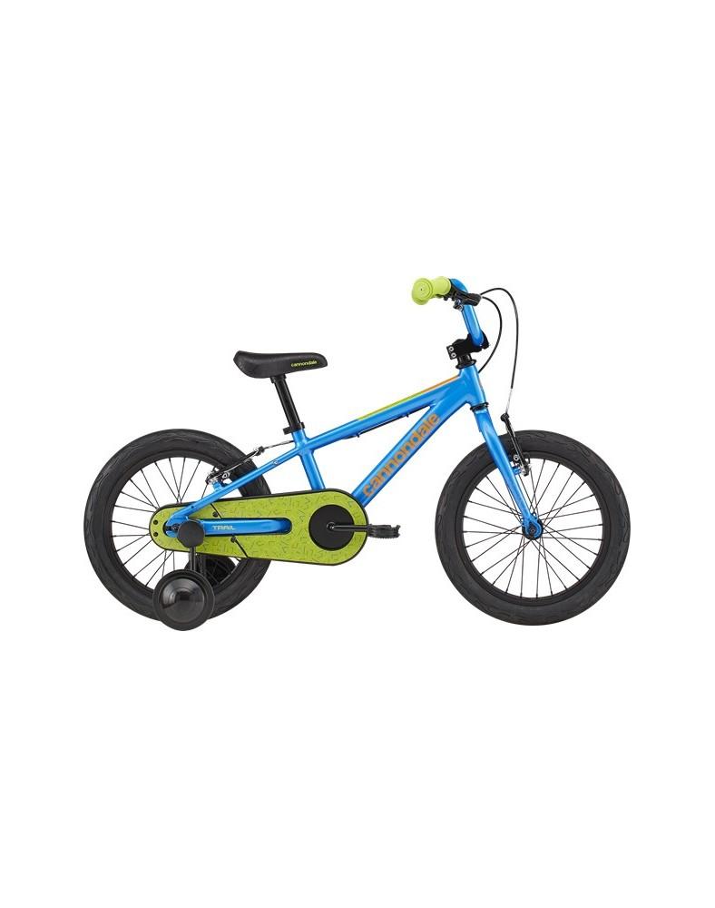 Cannondale Kids Trail Freewheel 16 Electric Blue 2020